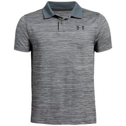 Under Armour Big Boys UA Performance Heather Polo Shirt