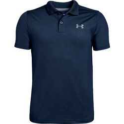 Big Boys UA Performance Textured Polo Shirt