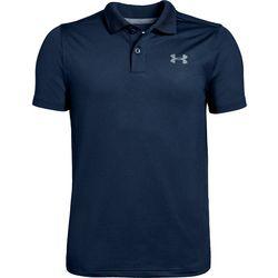 Big Boys UA Performance Textured Polo Shirt