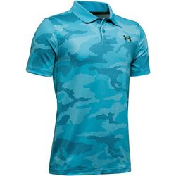 Big Boys UA Performance Camo Print Polo Shirt