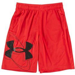 Under Armour Big Boys Prototype 2.0 Logo Shorts