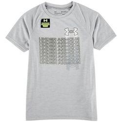 Under Armour Big Boys Tech Gradient T-Shirt