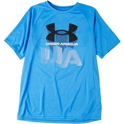 Big Boys Logo Repeat Tech T-Shirt