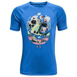 Under Armour Big Boys Tech Shark T-Shirt