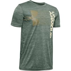 Big Boys UA Crossfade Short Sleeeve T-Shirt