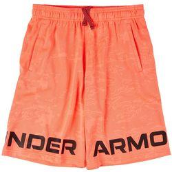 Under Armour Big Boys Logo Renegade Shorts
