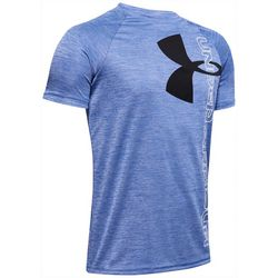 Under Armour Big Boys UA Tech Split Logo T-Shirt