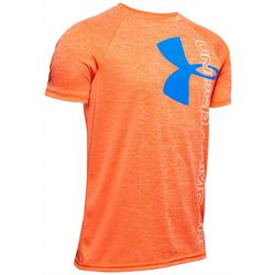 Under Armour Big Boys UA Tech Split Logo T-Shirt