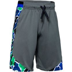Under Armour Big Boys UA Stunt Printed Shorts