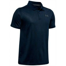 Under Armour Big Boys UA Performance Printed Polo
