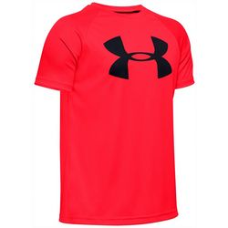 Big Boys Solid UA Tech Big Logo T-Shirt