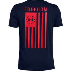 Big Boys UA Freedom Flag T-Shirt