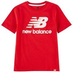 New Balance Little Boys Logo Core T-Shirt