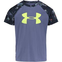 Under Armour Little Boys Logo Camo Raglan T-Shirt