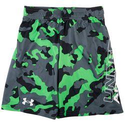Under Armour Little Boys Camo Logo Shorts
