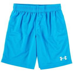 Little Boys Solid Logo Shorts