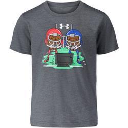 Little Boys Football Heads T-Shirt