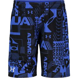 Little Boys Logo Print Shorts