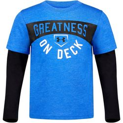 Under Armour Little Boys Greatness On Deck T-Shirt