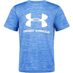 Under Armour Little Boys Short Sleeve Big Logo T-Shirt