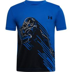 Little Boys UA Football Runner T-Shirt