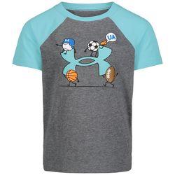 Under Armour Little Boys Sport Ball Raglan T-Shirt