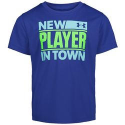 Under Armour Little Boys New Player In Town T-Shirt