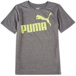 Puma Big Boys Up-N-Down Performance Short Sleeve T-Shirt