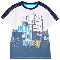 RB3 Active Little Boys In It To Win It T-Shirt