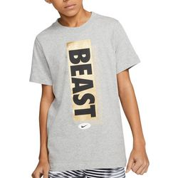 Nike Big Boys Short Sleeve Beast T-shirt