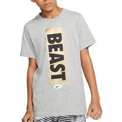 Big Boys Short Sleeve Beast T-shirt