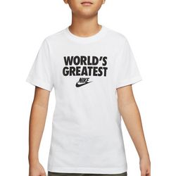 Nike Big Boys Short Sleeve World's Greatest T-shirt