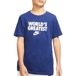 Nike Big Boys Short Sleeve World's Greatest T-shirt