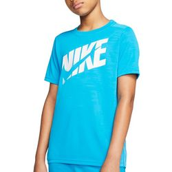 Nike Big Boys Dri-FIT Swoosh Training T-shirt