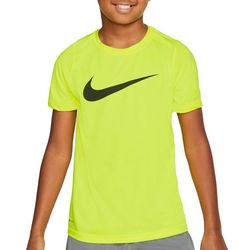 Nike Big Boys Dri-FIT Swoosh T-shirt