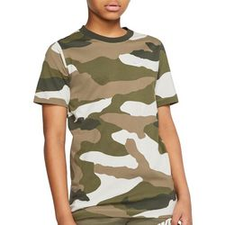 Nike Big Boys Short Sleeve Camo T-shirt