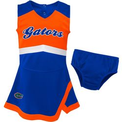 Florida Gators Little Girls Cheer Captain Dress