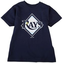 Tampa Bay Rays Toddler Boys Logo Rays T-Shirt