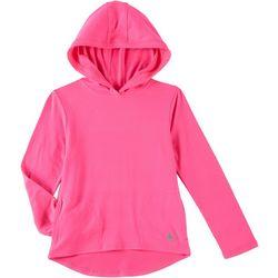 Reel Legends Little Girls Ultra Comfort Solid Hoodie