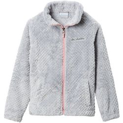 Little Girls Fire Side Full Zip Fleece Jacket