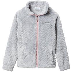 Little Girls Fire Side Full Zip Fleece Jacket