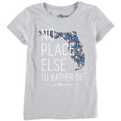 FloGrown Big Girls No Place Else Short Sleeve T-Shirt