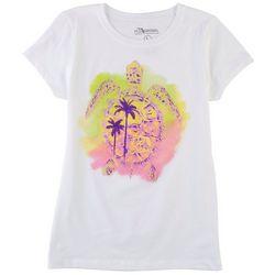 FloGrown Big Girls Turtle T-Shirt