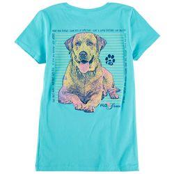 FloGrown Big Girls Dog Wisdom T-Shirt