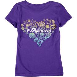 Big Girls Heart Seashell T-Shirt