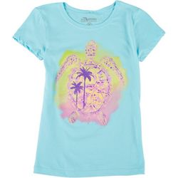 FloGrown Big Girls Turtle T-Shirt