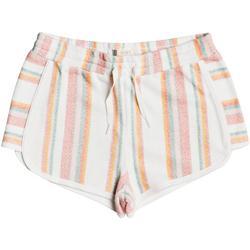 Big Girls Cute People Stripe Shorts