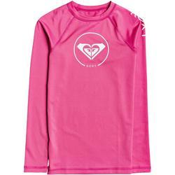 Big Girls Beach Classics Logo Long Sleeve Rashguard