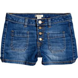 Roxy Big Girls Once Again Denim Shorts