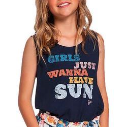 Little Girls Just Wanna Have Sun Tank Top